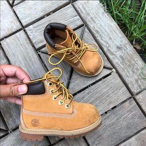 Timberland Boots Kids Size 5C